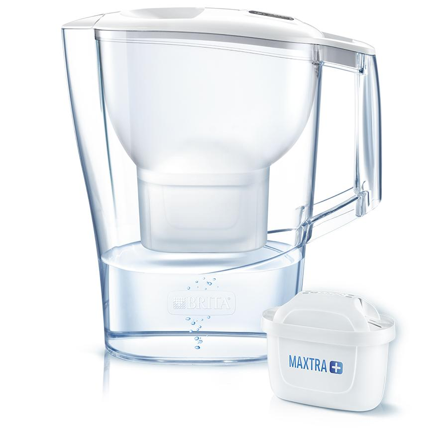 BRITA fill&enjoy Aluna white and MAXTRA+