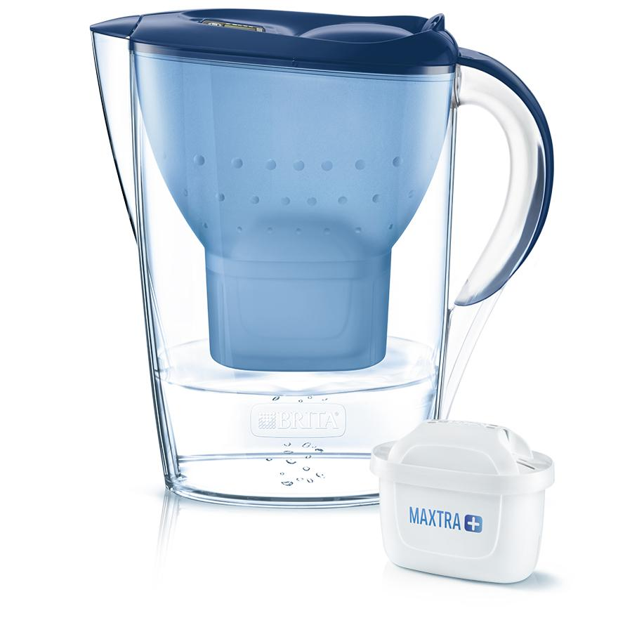 BRITA fill&enjoy Marella blue with MAXTRA+