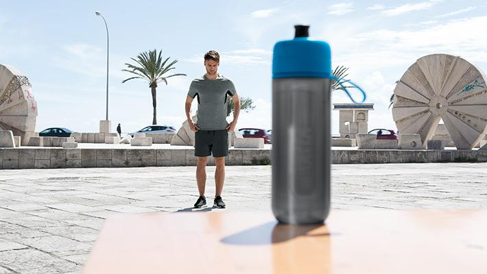 ブリタの浄水フィルターボトル