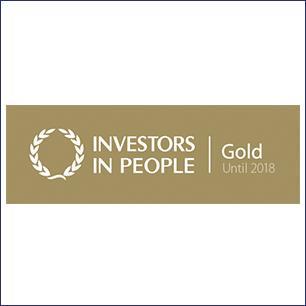 BRITA vision investors in people gold