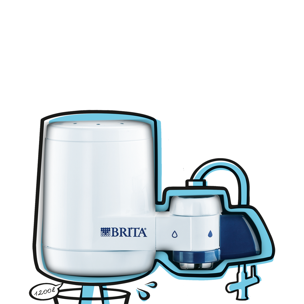 BRITA蛇口用浄水器マウント