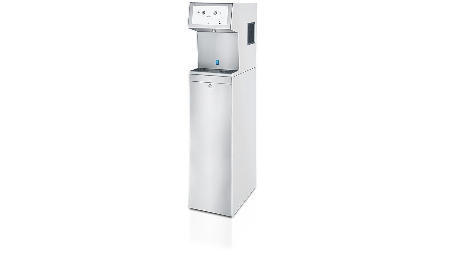 A product shot of BRITA Aquarite tower from front.