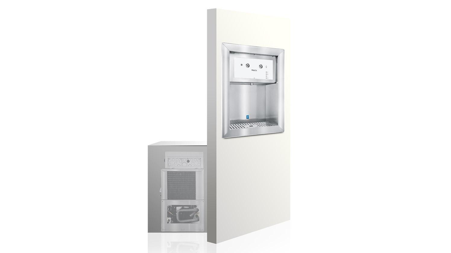 A product shot of BRITA Aquarite inwall system.