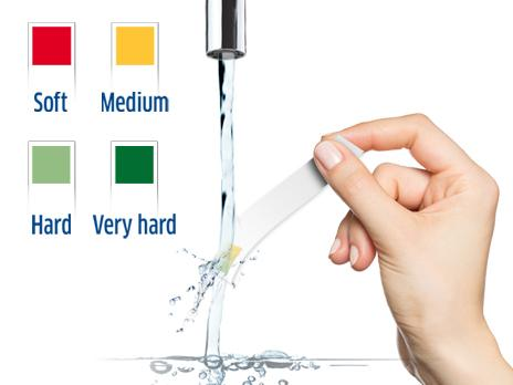 BRITA water hardness test strip