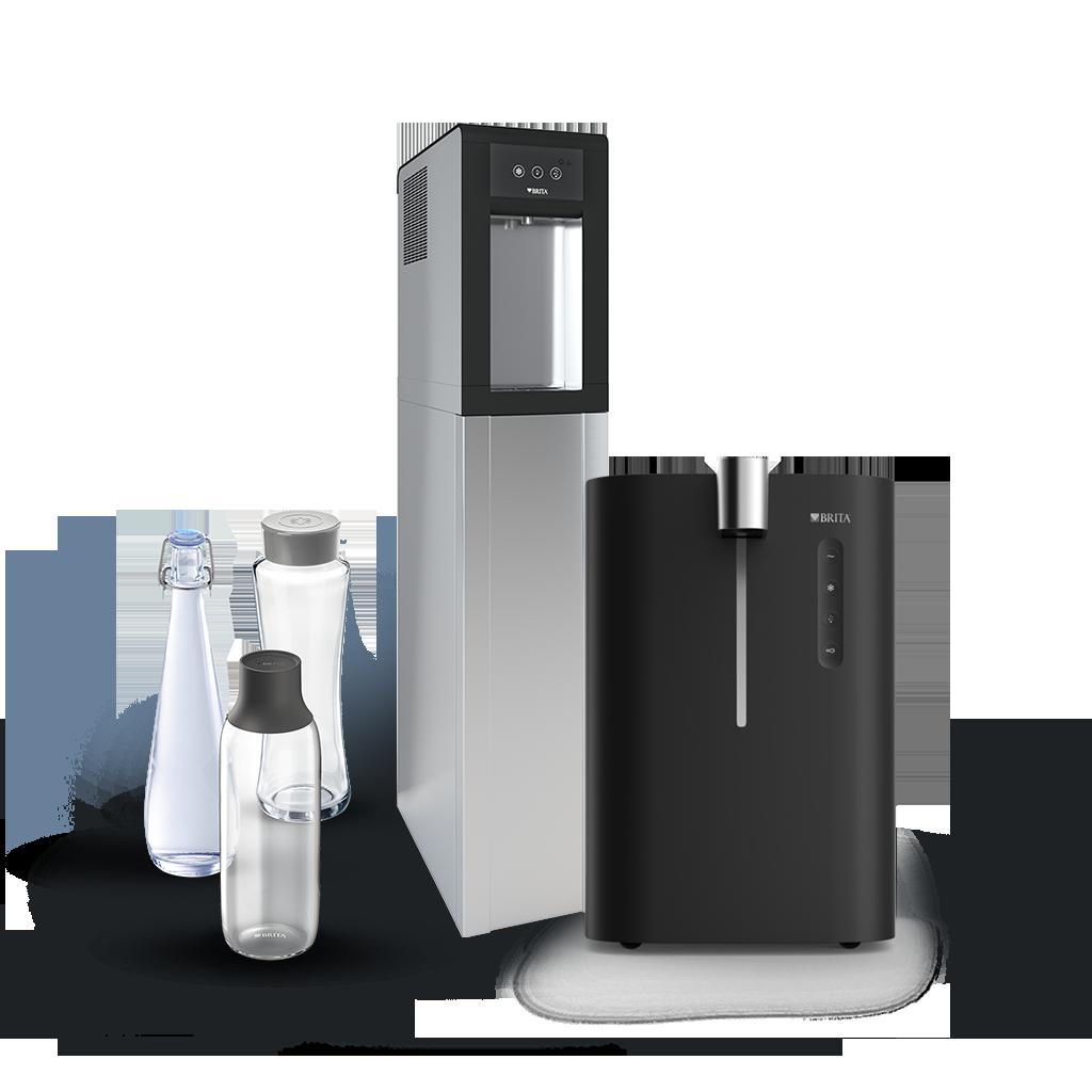 BRITA hot and cold water dispenser