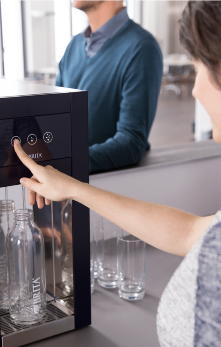 Reduce waste by drinking filtered water