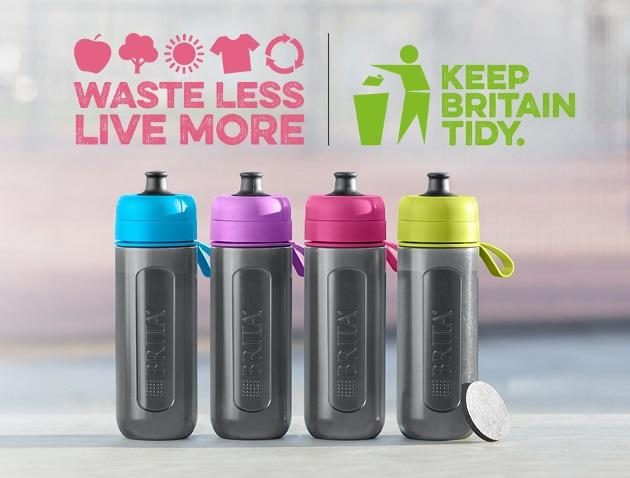 BRITA fill&go water filter bottle