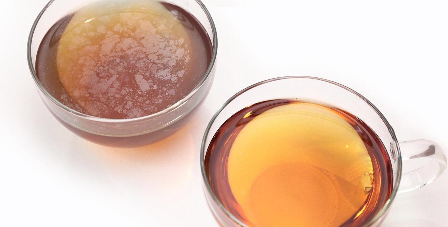 BRITA filtered water better tasting tea
