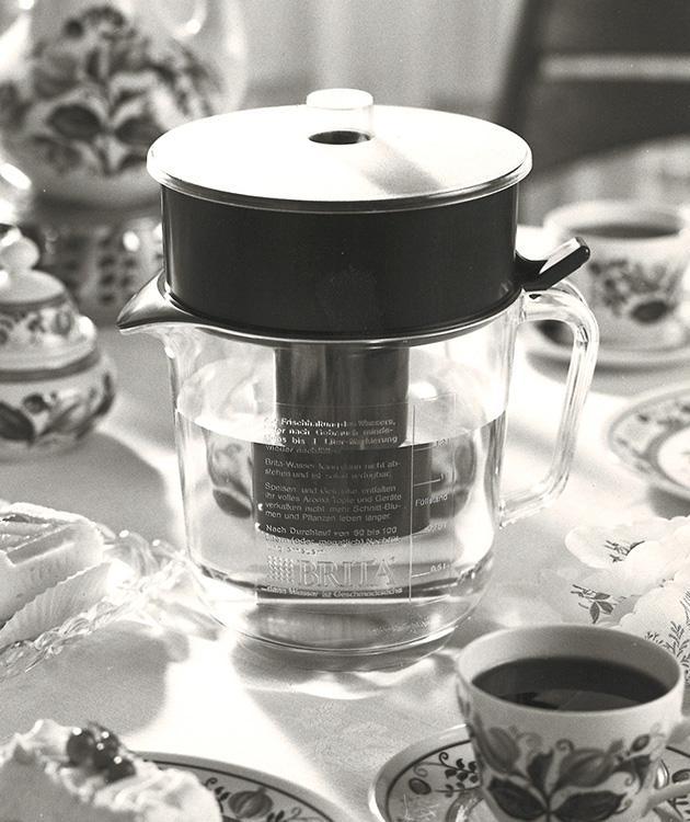 BRITA 歷史 首款濾水壺