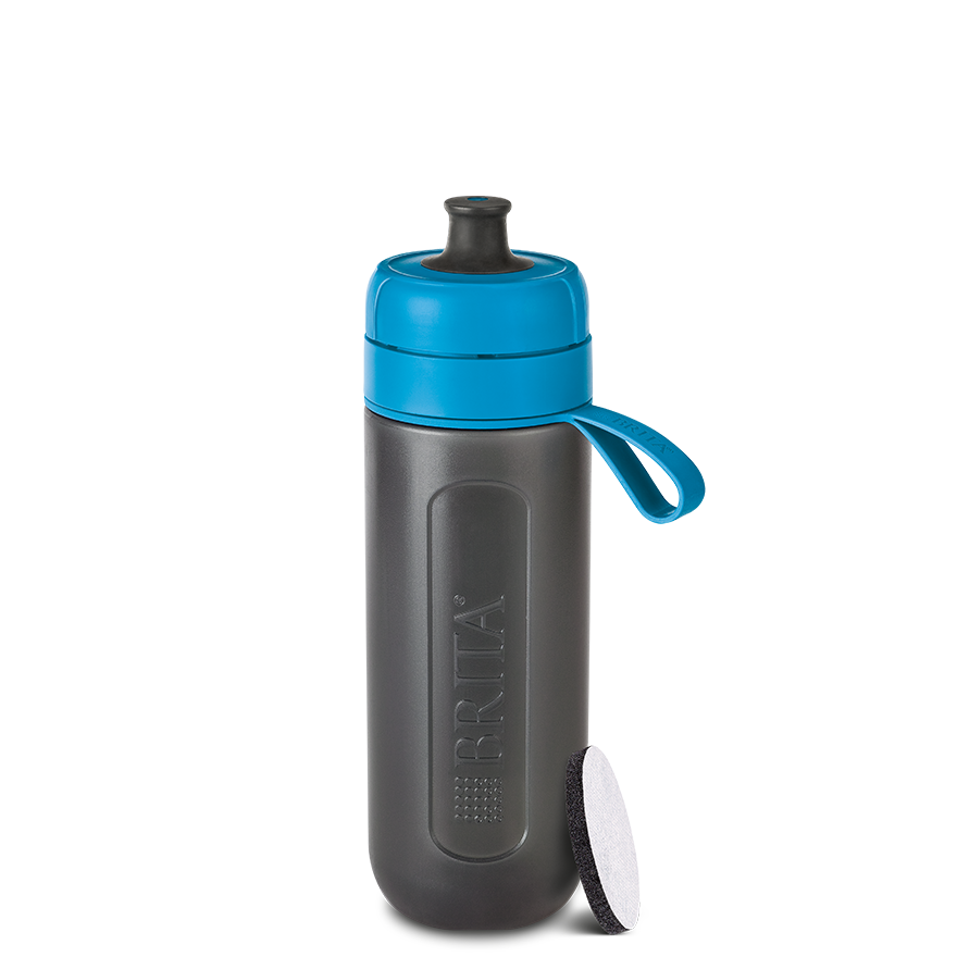BRITA fill&go Active 運動濾水瓶 fresh blue