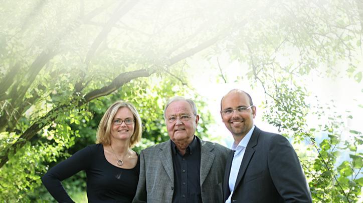 BRITA Geschichte Brita, Heinz und Markus Hankammer