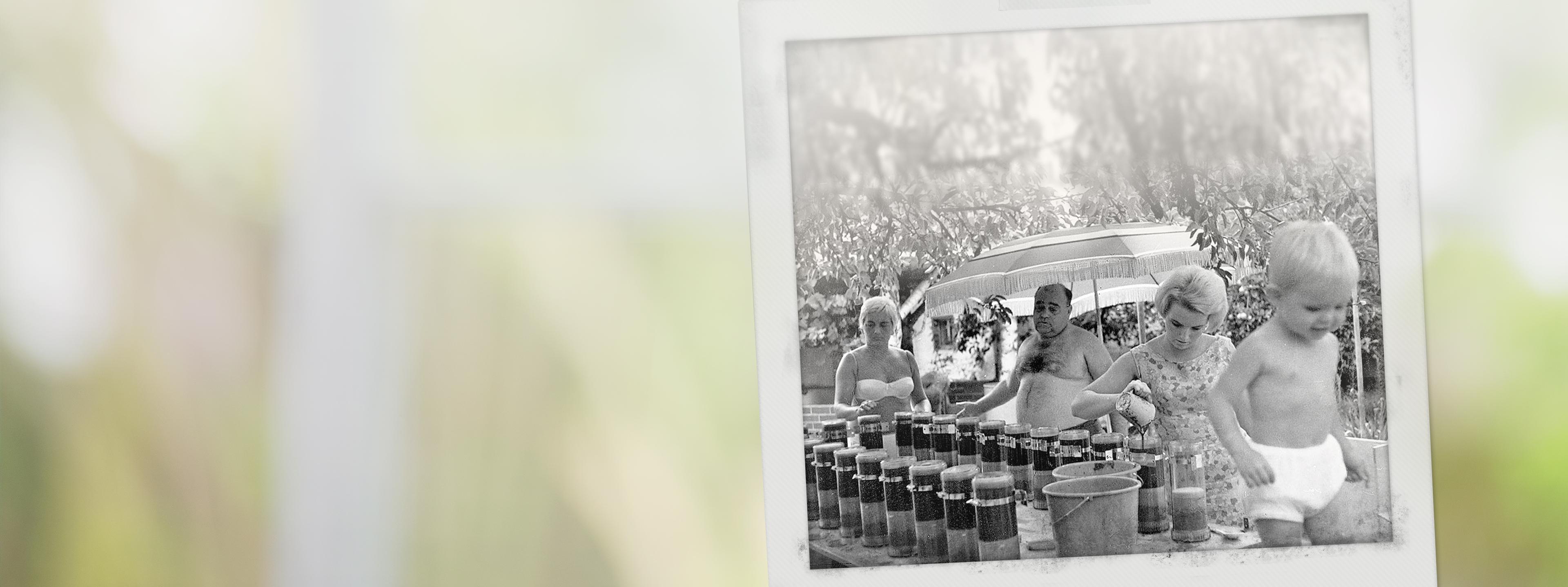 BRITA Geschichte Familie stellt erste Filter her