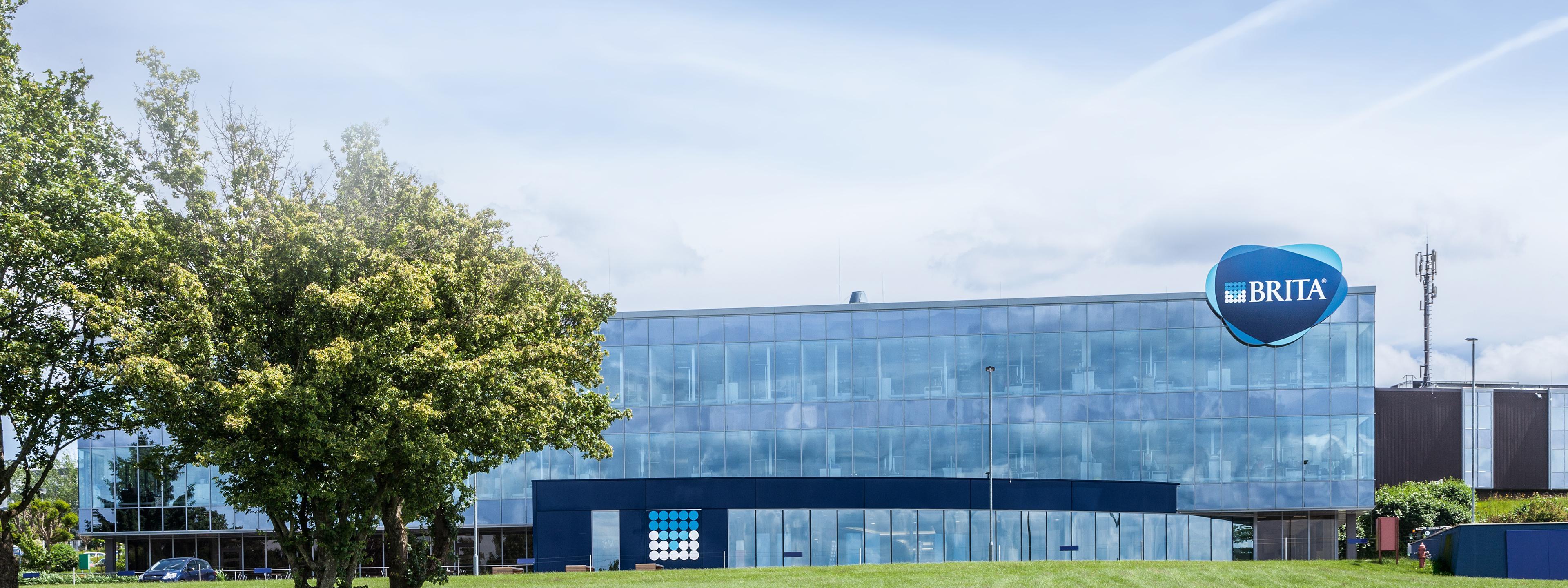 BRITA Geschichte Hauptsitz Taunusstein Fernansicht