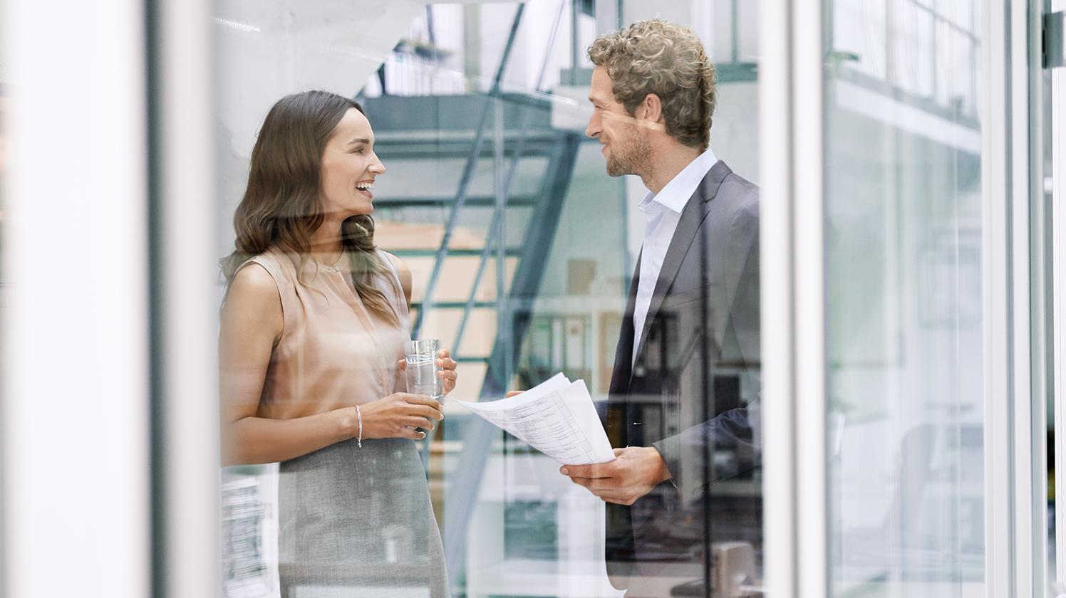 BRITA ograniczanie odpadów rozmowa w miejscu pracy