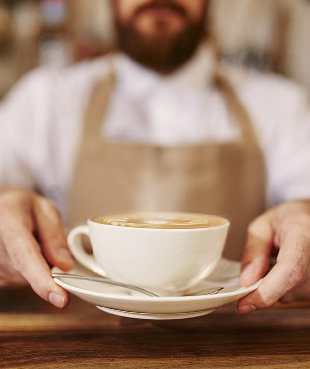 BRITA café barista taza de café