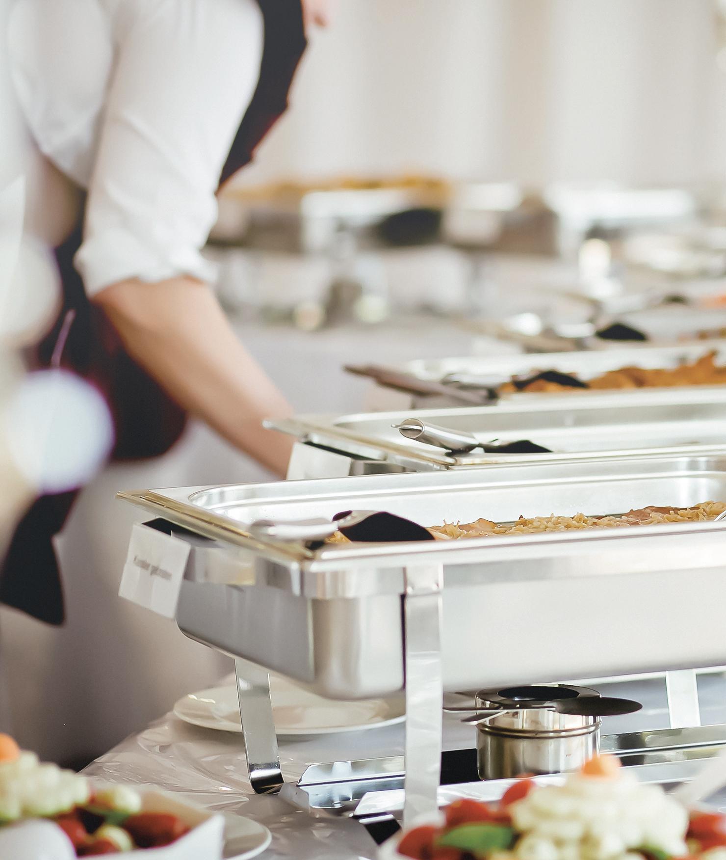 BRITA acqua buffet catering