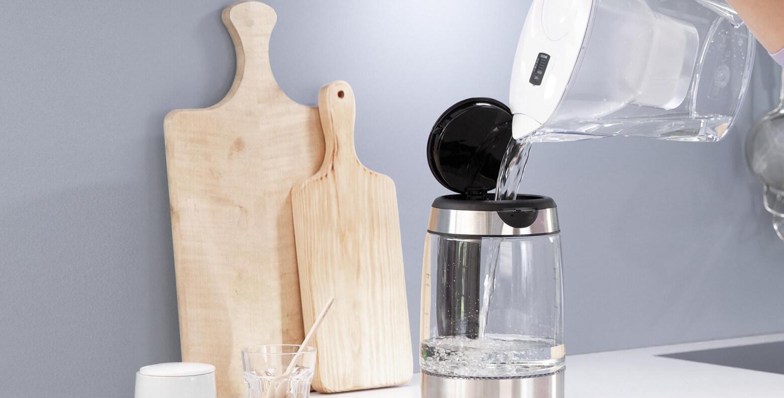 BRITA water filter reduce limescale