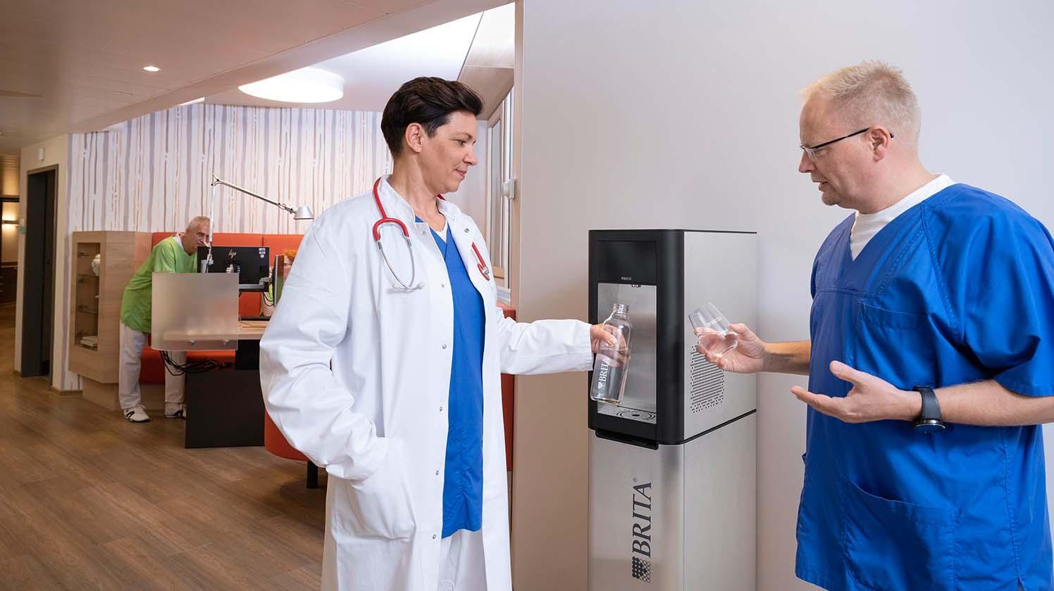 fontaine à eau hôpital & santé - BRITA