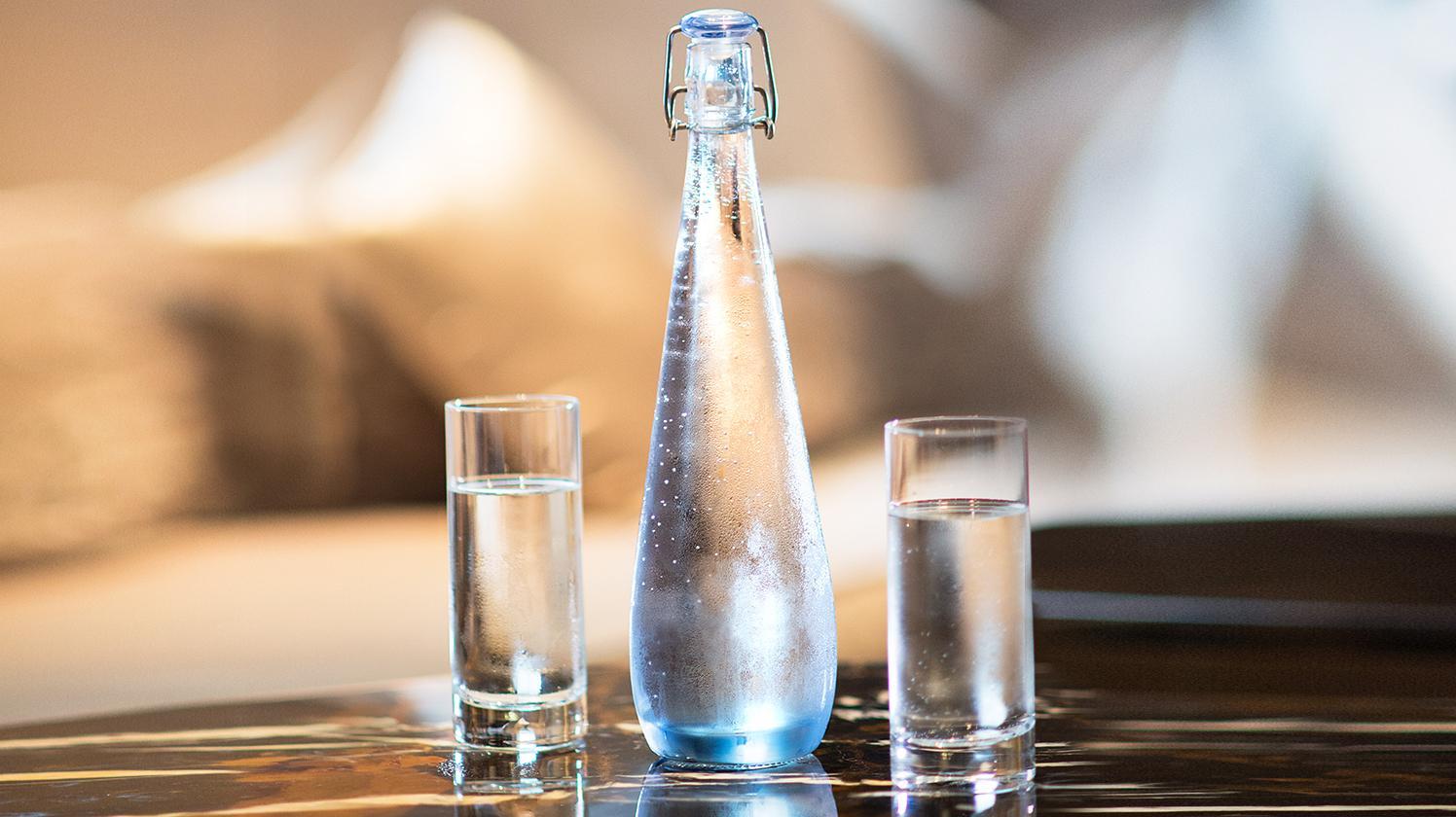 dispenser acqua BRITA ristoranti bottiglia acqua
