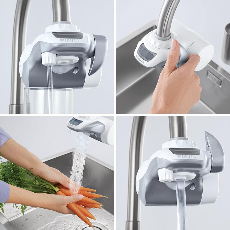 Funciones del filtro de agua BRITA On Tap