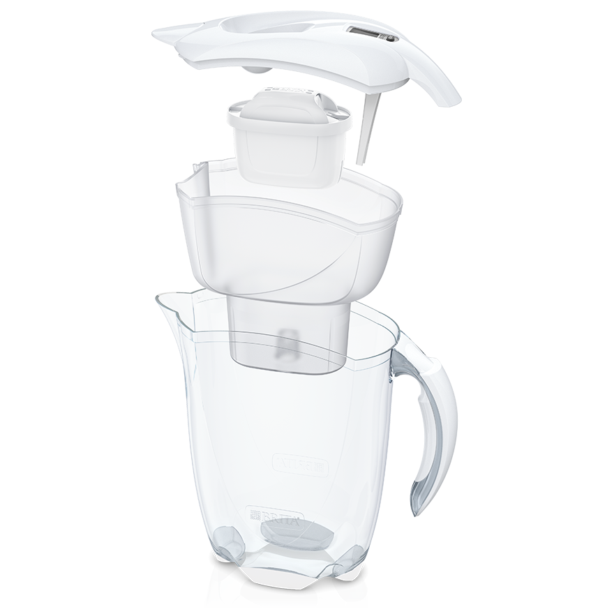 BRITA fill&enjoy Elemaris cool white exploze