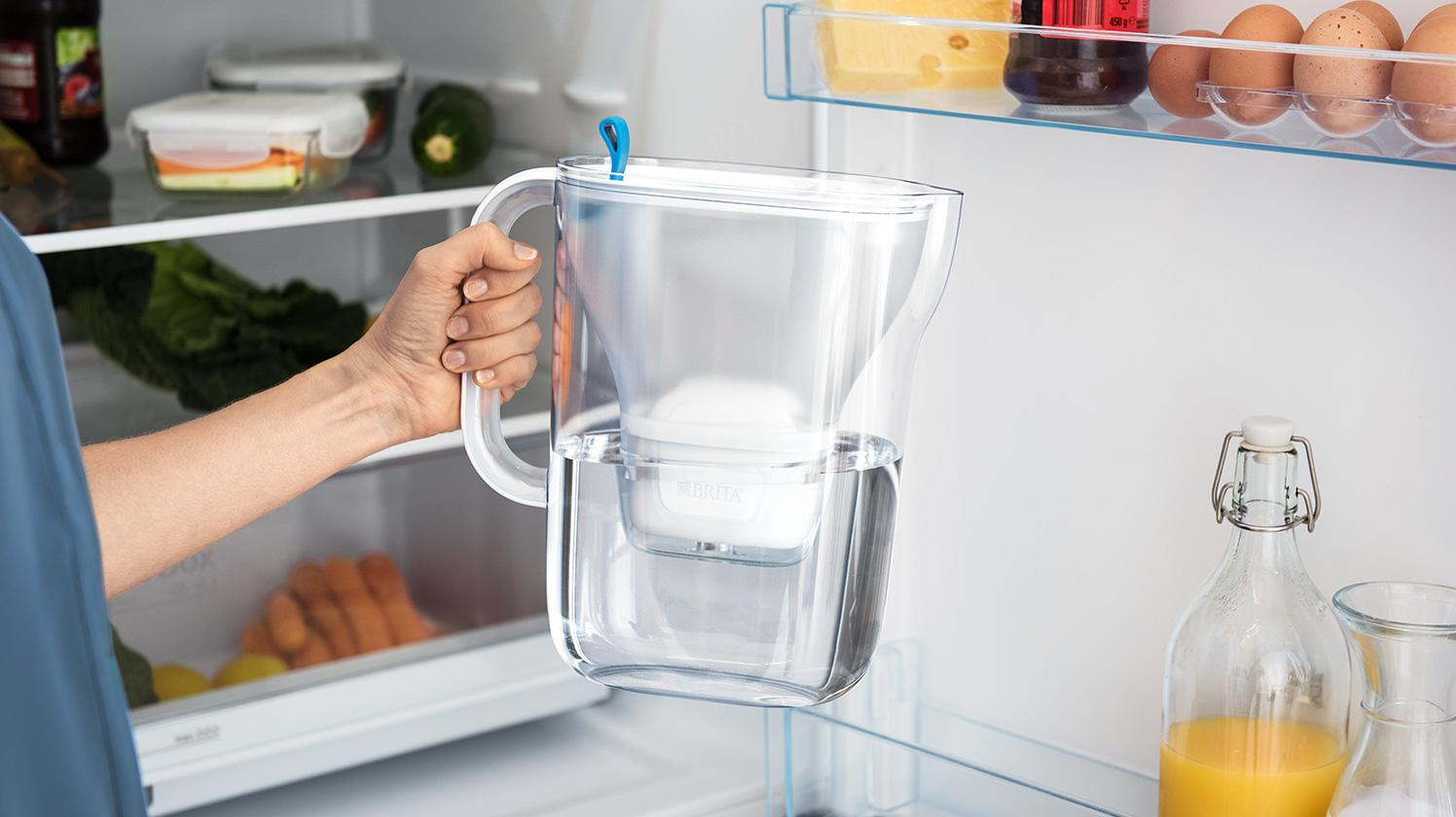 BRITA fill&enjoy Style soft blue frigorífico madre