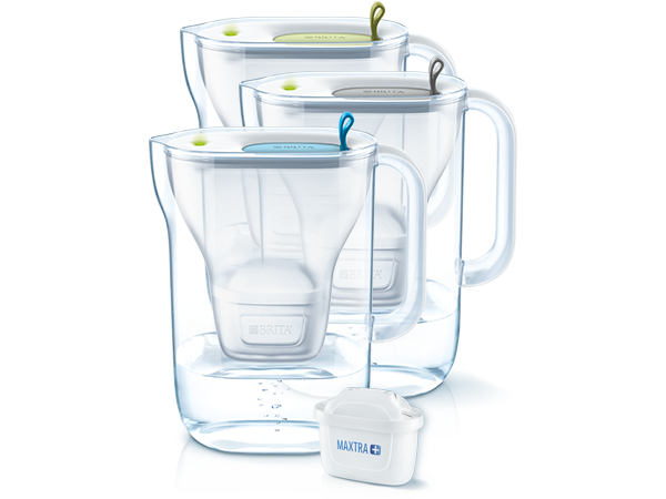 Style waterfilter trio