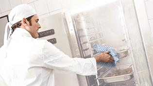 steam oven in professional kitchen