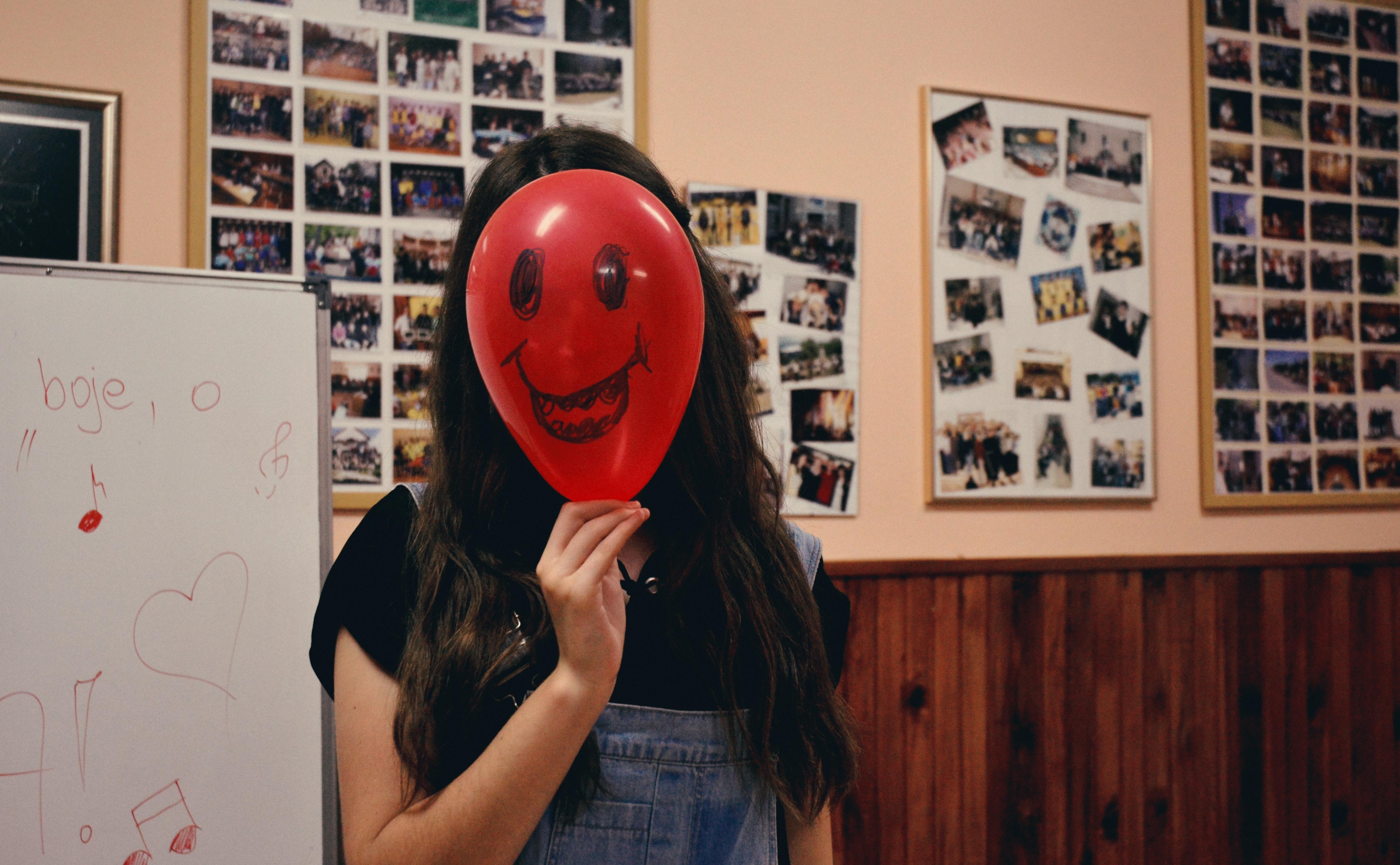 Balloon Office Happy