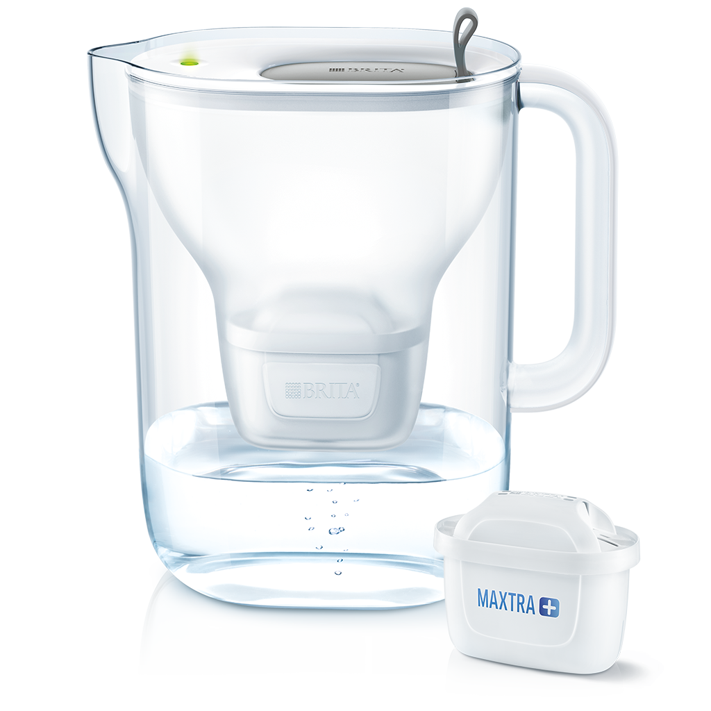 BRITA fill & enjoy Style XL 白色-灰色