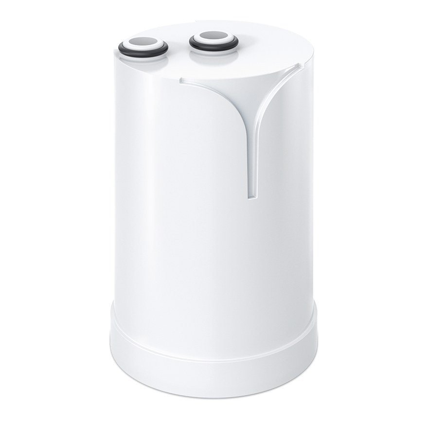 A product shot of Brita on tap filter.