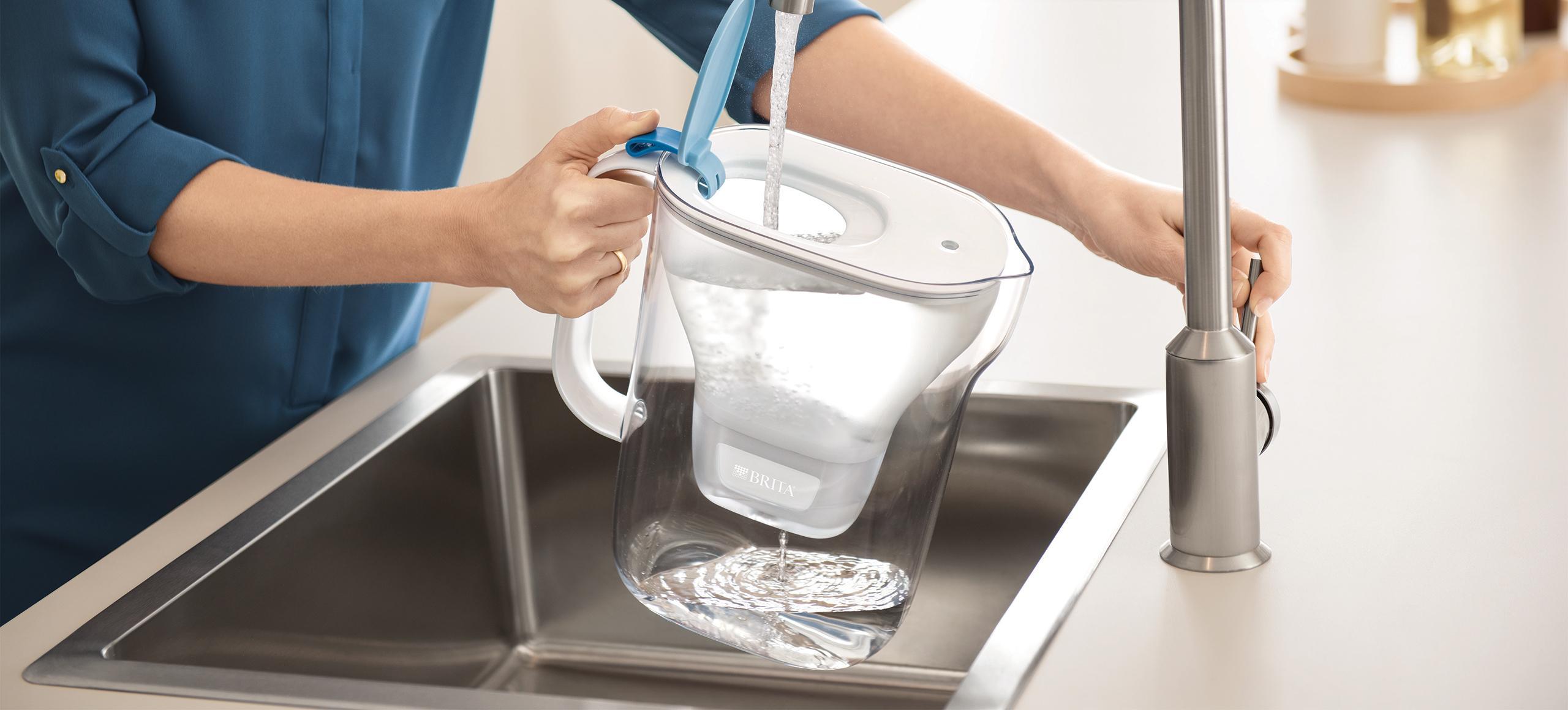 Wasser entkalken mit einem BRITA Style