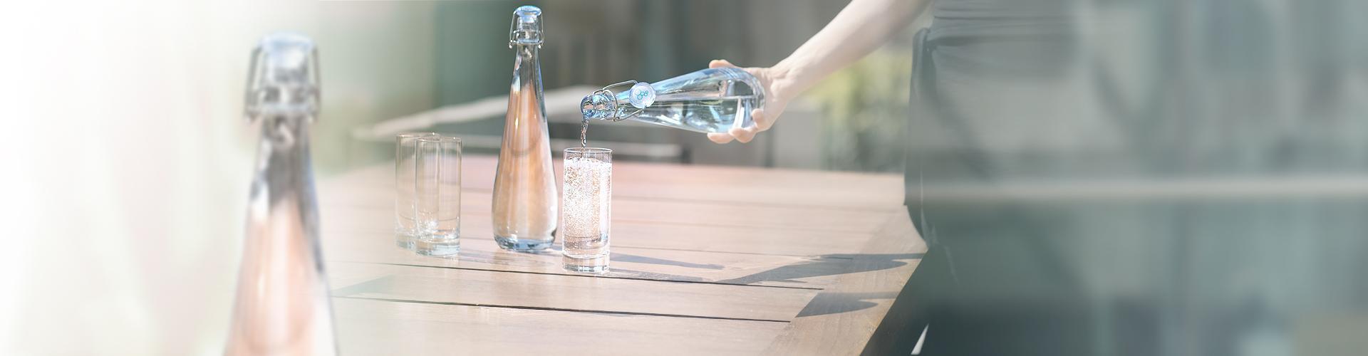 Bouteilles pour fontaine à eau