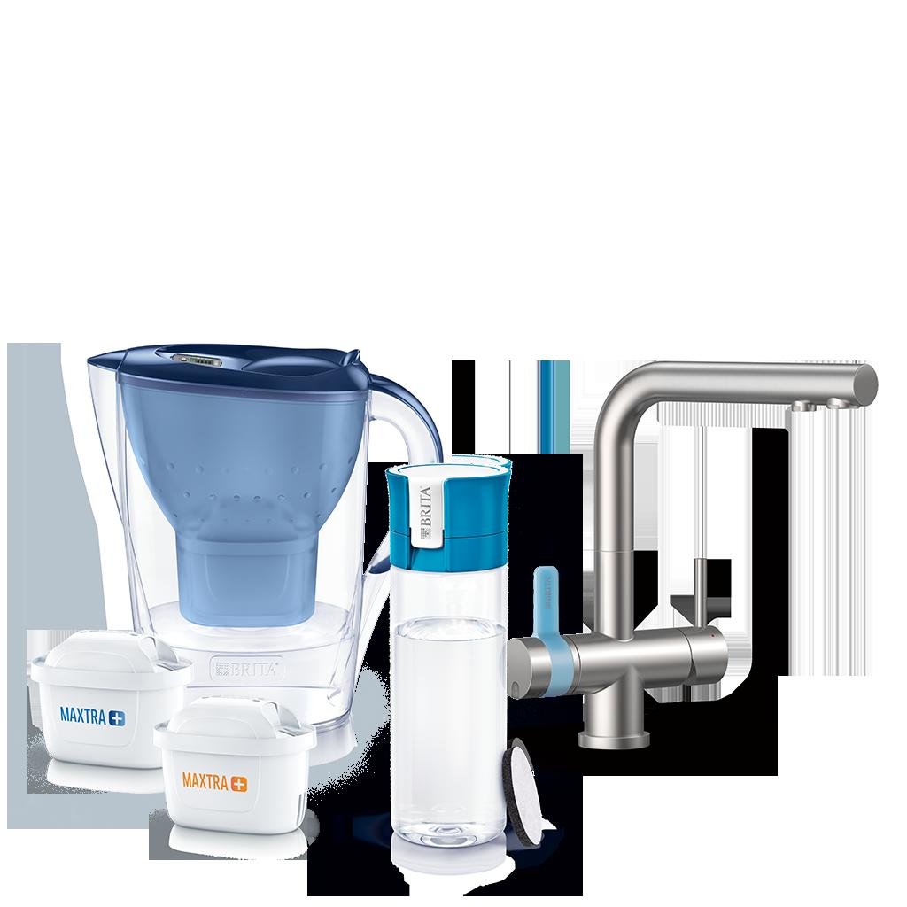 Фильтр для воды BRITA дома и на ходу
