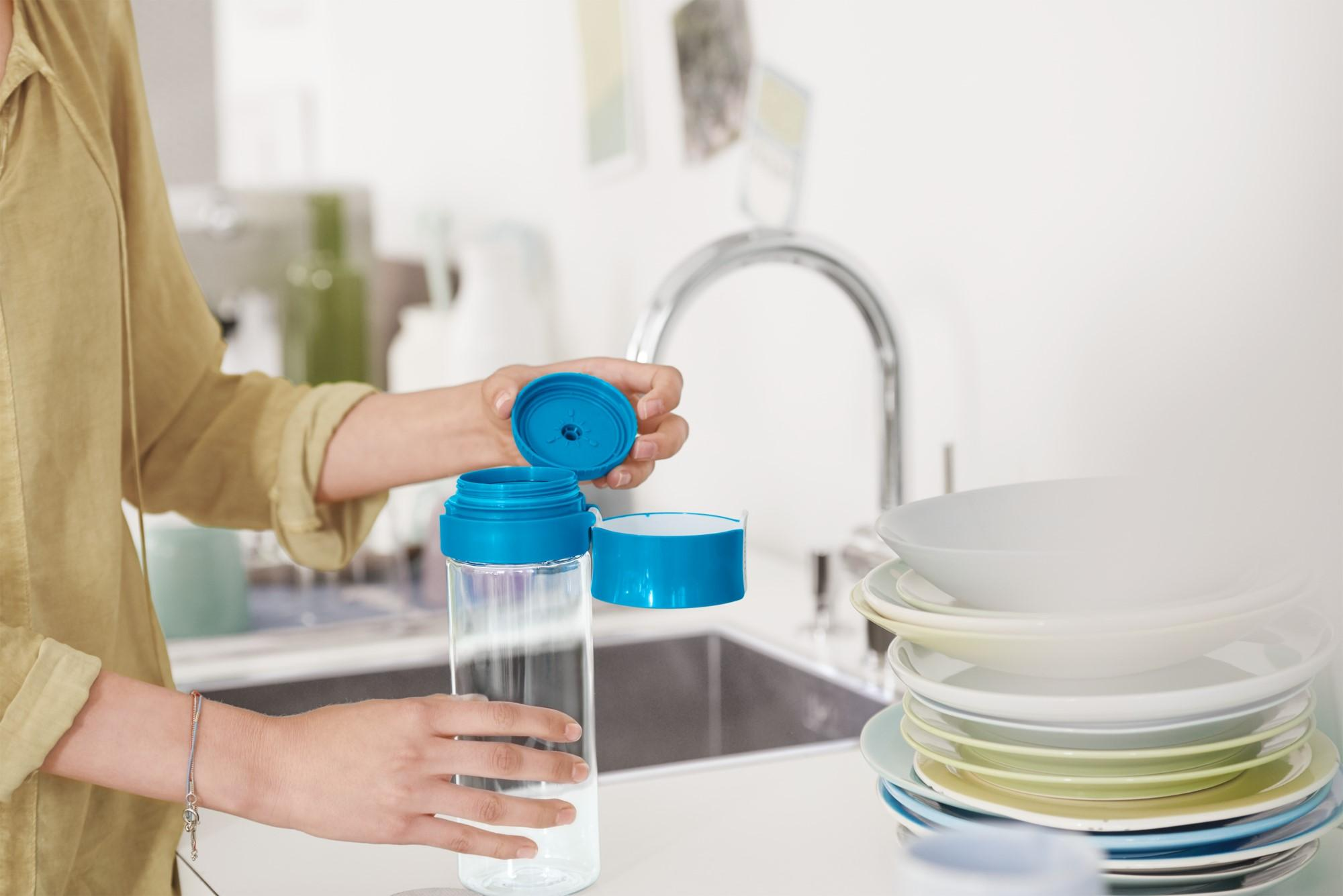 Fill and Go Bottle in Kitchen Sink - Smallest