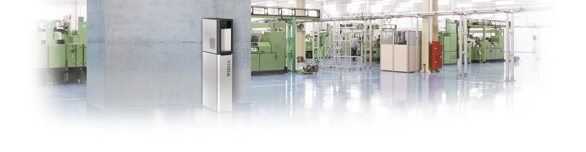 Water dispensers in the industry