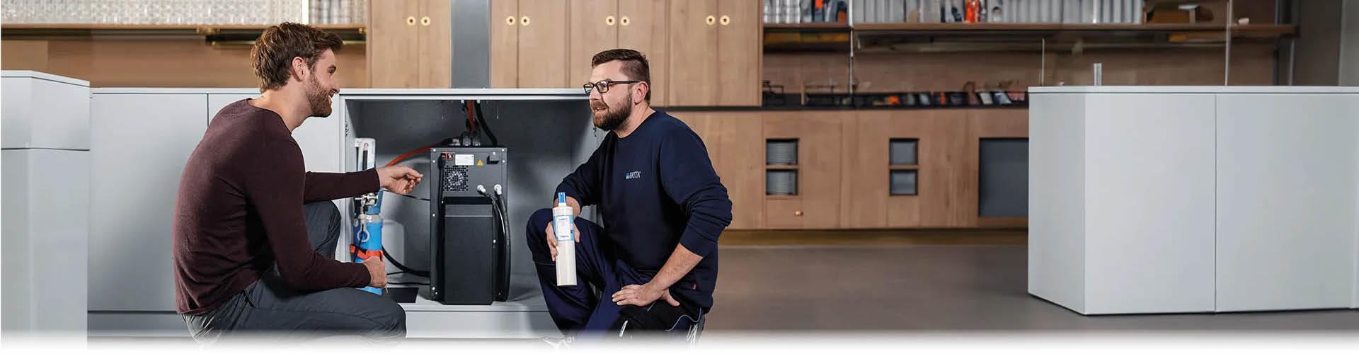 Duurzaam onderhoud en service voor waterdispenser