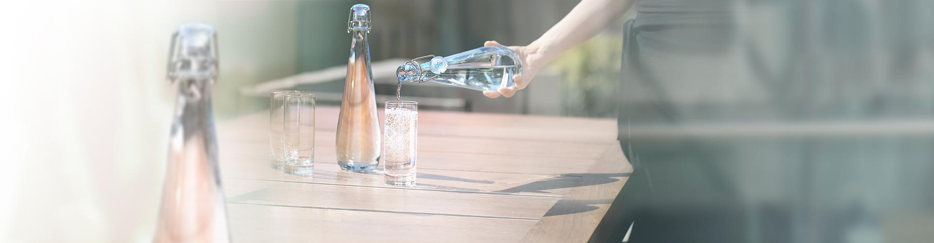 Watertypes zoals plat water en bruiswater