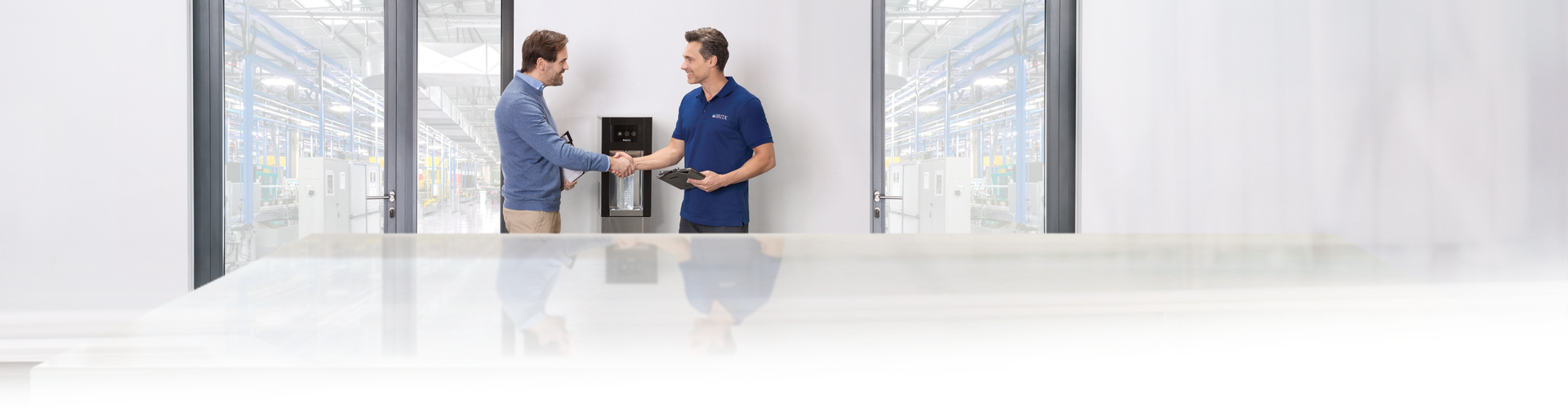 Waterdispenser filter wisselen recyclen