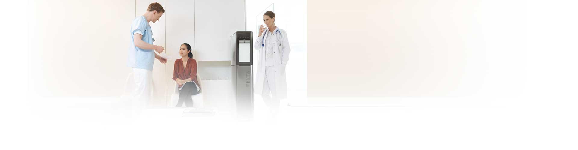 Waterkoeler voor ziekenhuis en gezondheidszorg