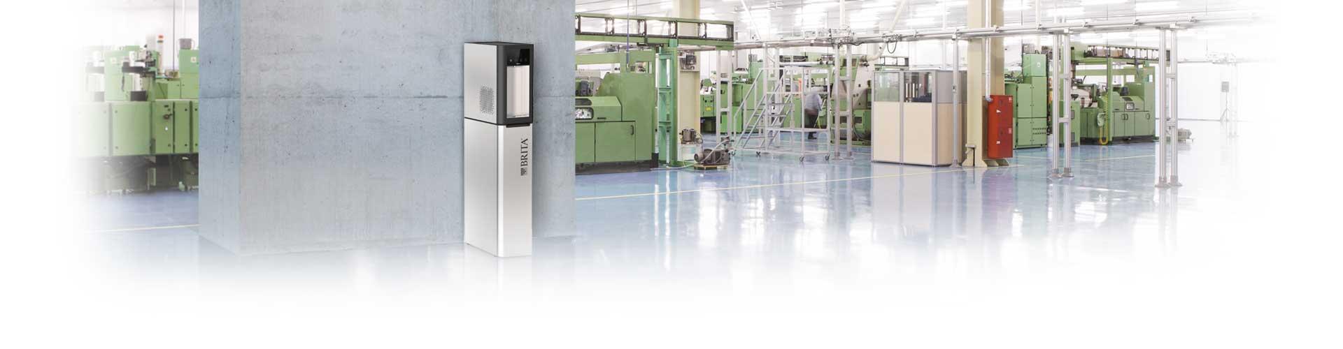 Wasserspender in der Industrie