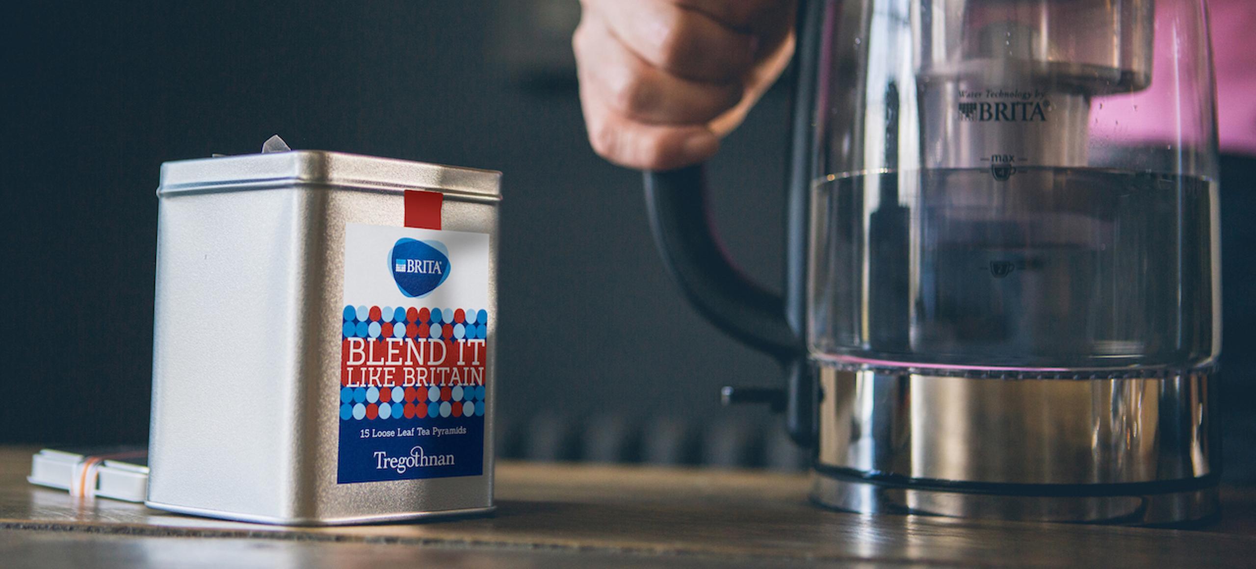 Blend It Like BRITA tea by BRITA and Tregothnan