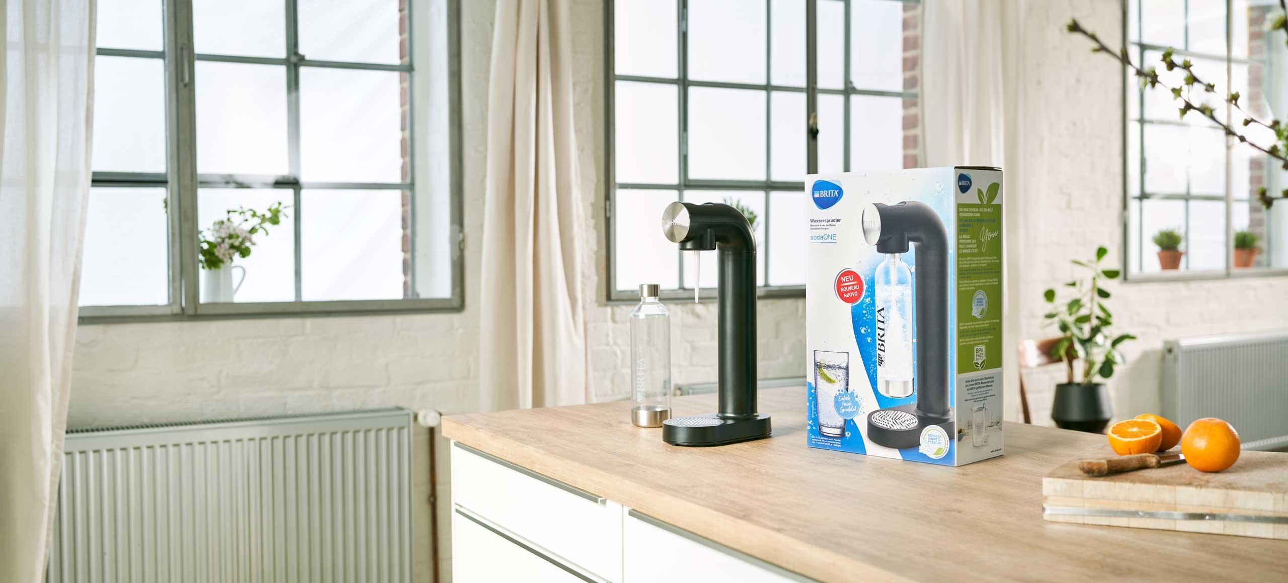 Wassersprudler BRITA sodaOne